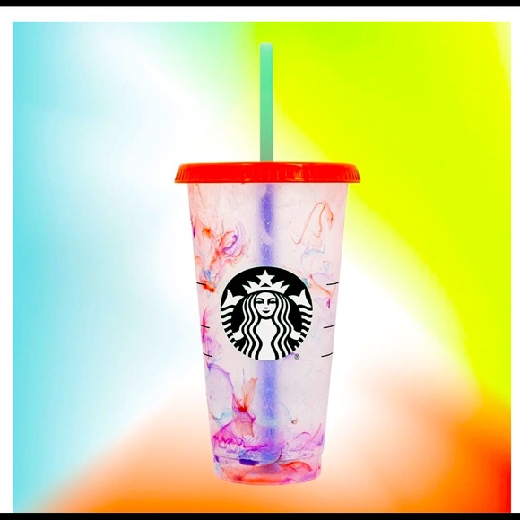 Starbucks venti color changing cup